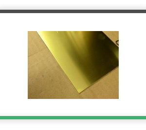 0.5 mm brass sheet