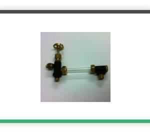 1-4 x 32 ME TPI 5mm glass Plain water gauge