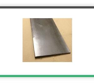 1-4 x 4 Bright Mild Steel Flat