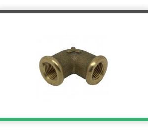1-8 BSP elbow brass casting