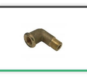 1-8 BSP elbow street brass casting