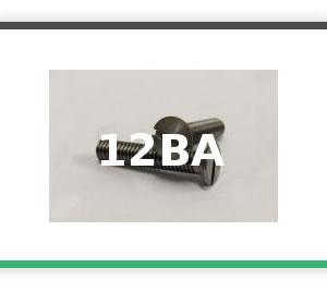 12BA Steel Countersunk