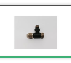 3-16 x 40 3-32 Pipe 90 degree check- clack valve