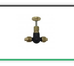 3-8 x 32 1-4 Pipe inline globe valve