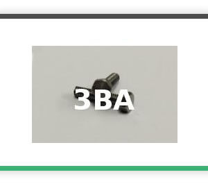 3BA HEXAGON HEAD STEEL BOLTS SMALLER HEAD