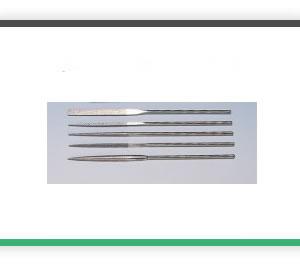 5 piece 100mm x 2mm MINI Diamond file set