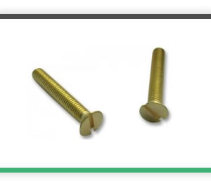 M3 x 12 brass countersunk pack of 20