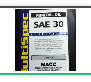 SAE 30 oil 1 litre