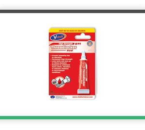 Streetwize V-Tech Threadlocker Adhesive 6ml red