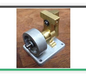 Vertical cylinder Oscillating steam engine. VOSC