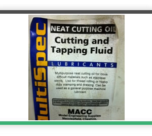 cutting and tapping oil neat 1 litres