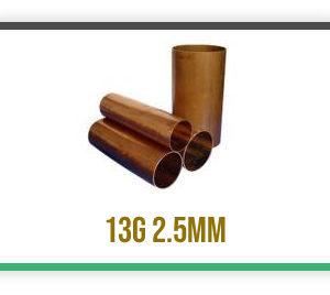 13g Copper Tubes C106