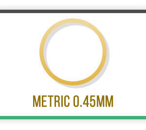 Brass Tube Metric 0.45mm wall