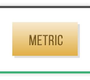Metric Brass Flats