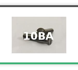 10BA Steel Countersunk
