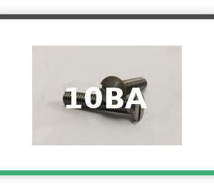 10BA Steel Countersunk