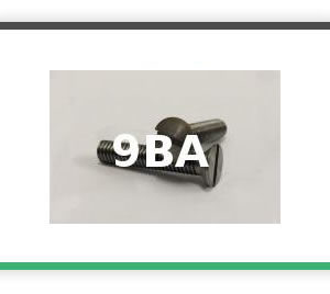 9BA Steel Countersunk