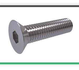 Metric countersunk screws