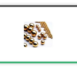Bronze ball bearings
