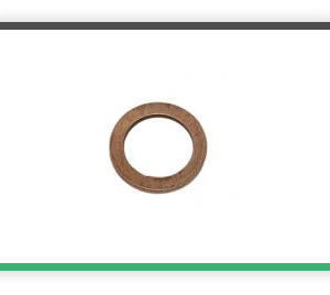 Flat copper washers