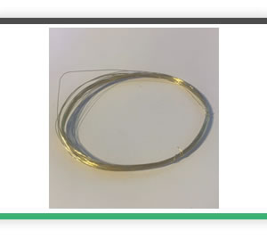 0.25mm diameter brass wire 5 metres