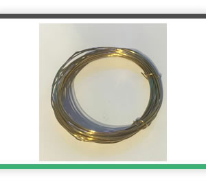 0.75mm diameter brass wire 5 metres