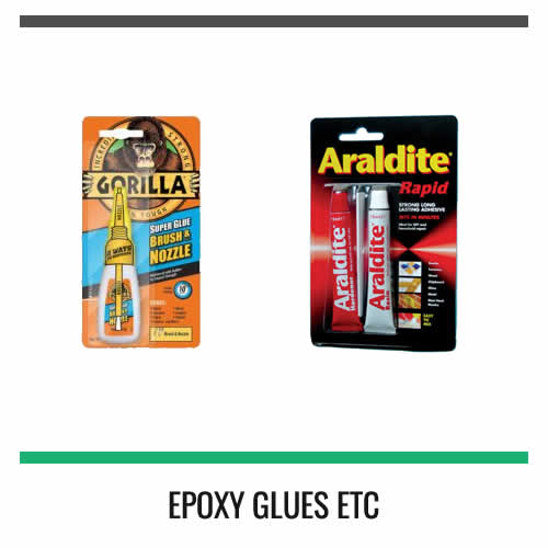 EPOXY-GLUES-ETC